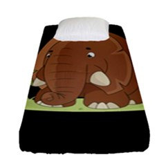 Cute Elephant Fitted Sheet (single Size)