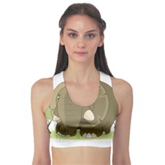 Cute Elephant Sports Bra