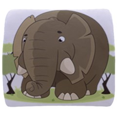 Cute Elephant Back Support Cushion