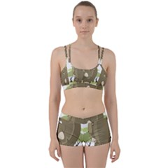 Cute Elephant Women s Sports Set