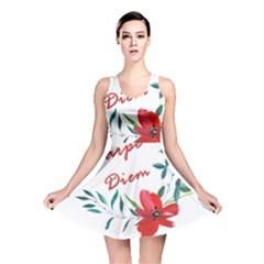 Carpe Diem  Reversible Skater Dress