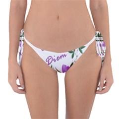 Carpe Diem  Reversible Bikini Bottom