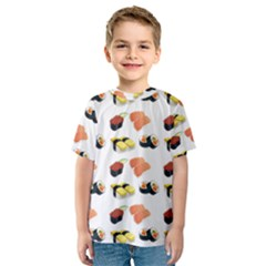 Sushi Pattern Kids  Sport Mesh Tee