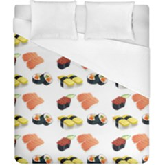 Sushi Pattern Duvet Cover (california King Size)