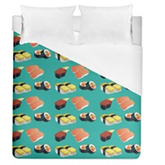 Sushi Pattern Duvet Cover (queen Size)