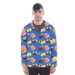 Sushi Pattern Hooded Wind Breaker (men)