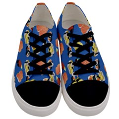 Sushi Pattern Men s Low Top Canvas Sneakers