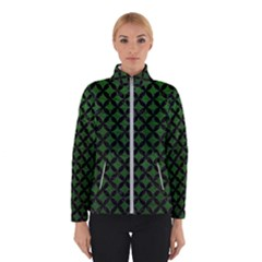 Circles3 Black Marble & Green Leather (r) Winterwear