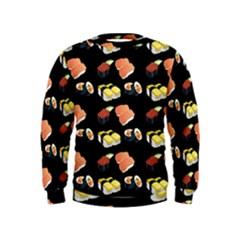 Sushi Pattern Kids  Sweatshirt