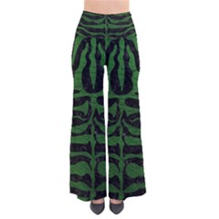 Skin2 Black Marble & Green Leather Pants