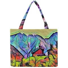 Magic Cube Abstract Art Mini Tote Bag