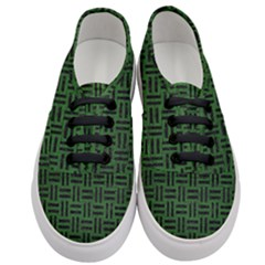 Woven1 Black Marble & Green Leather (r) Women s Classic Low Top Sneakers