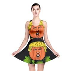 Trump Or Treat  Reversible Skater Dress