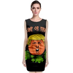 Trump Or Treat  Classic Sleeveless Midi Dress