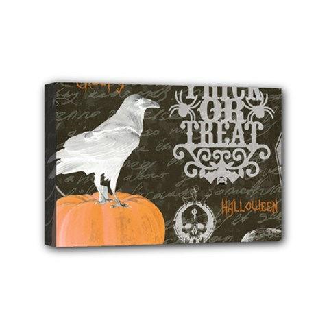 Vintage Halloween Mini Canvas 6  X 4