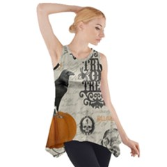 Vintage Halloween Side Drop Tank Tunic
