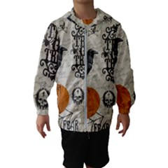 Vintage Halloween Hooded Wind Breaker (kids)