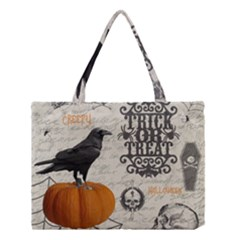 Vintage Halloween Medium Tote Bag