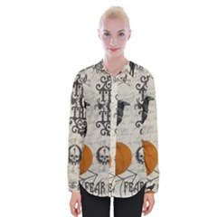 Vintage Halloween Womens Long Sleeve Shirt