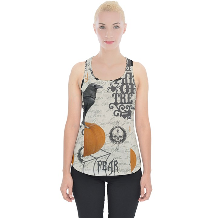 Vintage Halloween Piece Up Tank Top