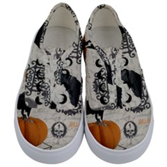 Vintage Halloween Kids  Classic Low Top Sneakers