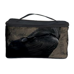 Vintage Halloween Raven Cosmetic Storage Case