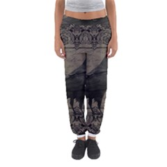 Vintage Halloween Raven Women s Jogger Sweatpants