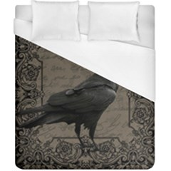Vintage Halloween Raven Duvet Cover (california King Size)