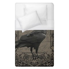 Vintage Halloween Raven Duvet Cover (single Size)