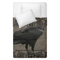 Vintage Halloween Raven Duvet Cover Double Side (single Size)