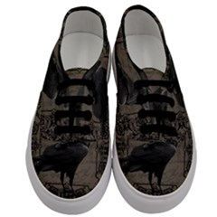 Vintage Halloween Raven Men s Classic Low Top Sneakers