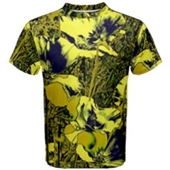 Amazing Glowing Flowers 2c Men s Cotton Tee