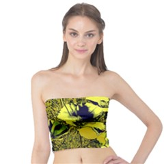 Amazing Glowing Flowers 2c Tube Top