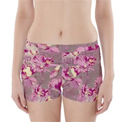 Amazing Glowing Flowers 2b Boyleg Bikini Wrap Bottoms