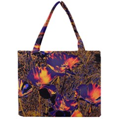 Amazing Glowing Flowers 2a Mini Tote Bag