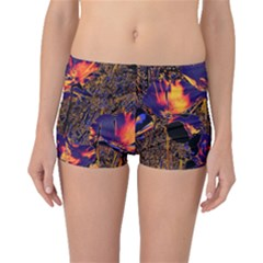 Amazing Glowing Flowers 2a Boyleg Bikini Bottoms
