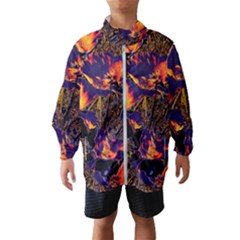 Amazing Glowing Flowers 2a Wind Breaker (kids)
