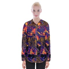 Amazing Glowing Flowers 2a Womens Long Sleeve Shirt