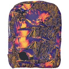 Amazing Glowing Flowers 2a Full Print Backpack