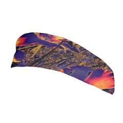 Amazing Glowing Flowers 2a Stretchable Headband