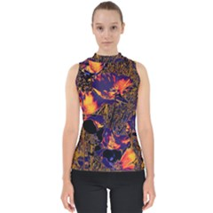 Amazing Glowing Flowers 2a Shell Top