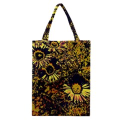 Amazing Neon Flowers B Classic Tote Bag