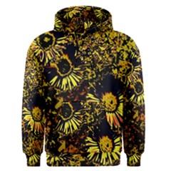 Amazing Neon Flowers B Men s Pullover Hoodie