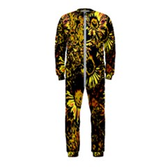 Amazing Neon Flowers B Onepiece Jumpsuit (kids)