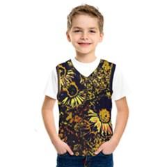 Amazing Neon Flowers B Kids  Sportswear