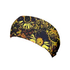 Amazing Neon Flowers B Yoga Headband