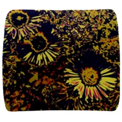 Amazing Neon Flowers B Back Support Cushion