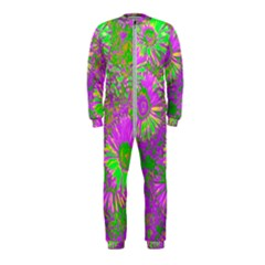 Amazing Neon Flowers A Onepiece Jumpsuit (kids)