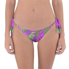 Amazing Neon Flowers A Reversible Bikini Bottom