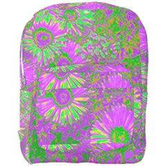 Amazing Neon Flowers A Full Print Backpack